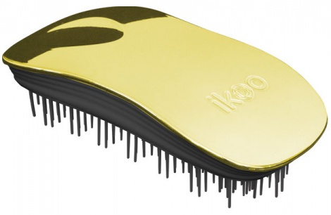 Ikoo Home Brush Soleil Metallic Black Gold 1a59cece7c